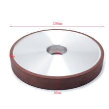 100x20x10x5mm diamond grinding wheel cup grinding circles for tungsten steel milling cutter tool sharpener grinder accessories 150x32x16x4mm Diamond Grinding Wheel Resin Bond Flat diamond disc sharpening for Milling Cutter Sharpener Tool 180#