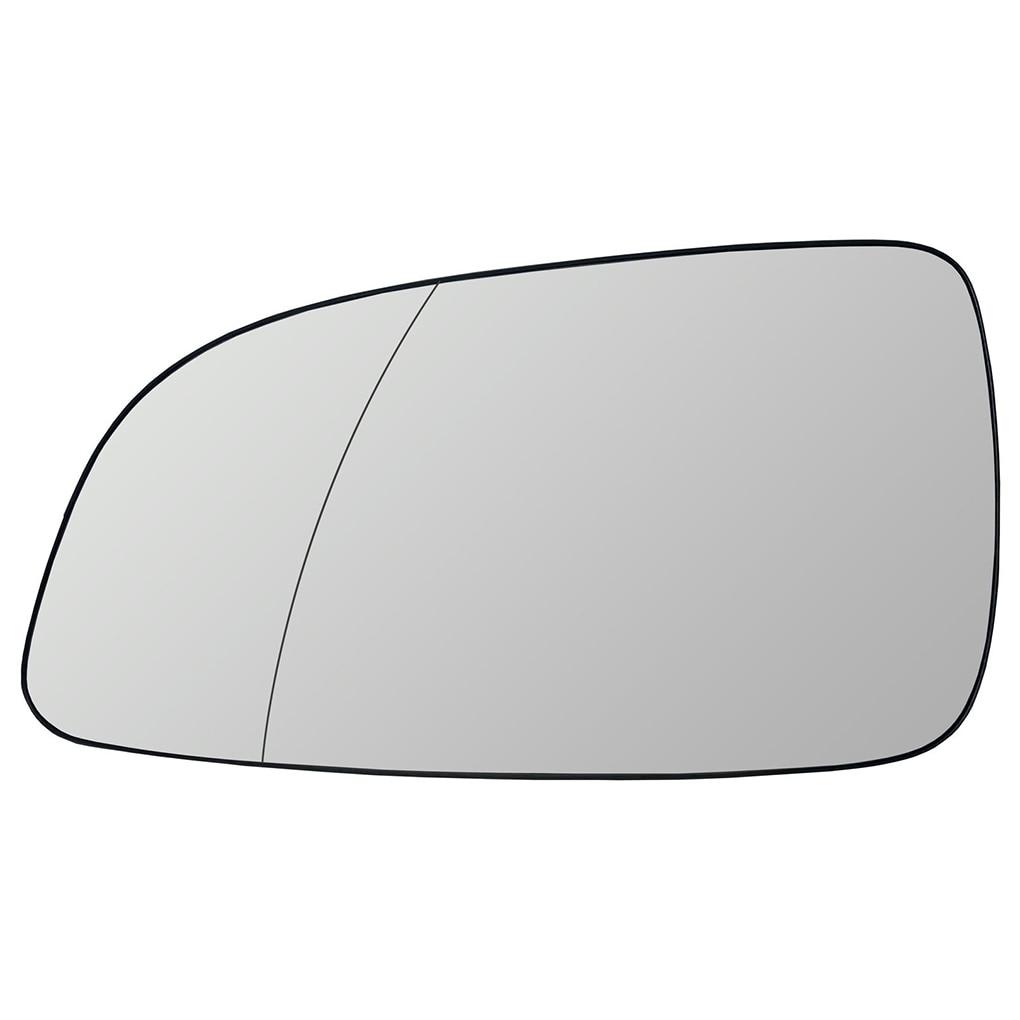 Carro esquerda direita motorista lado fora espelho aquecido aquecimento espelho retrovisor vidro 6428786 13141985 para opel astra 2004-2008