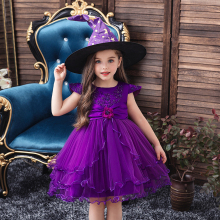 Baby Girl Dress 1-8 Years Wedding Girls Kids Party Dress Bow Tutu Princess Elegant Dress Lace Embroidery New Arrival 2020 new lace girls dress retro embroidery long sleeve christmas clothes girls party dress teenagers princess dress 3 13 years ca341