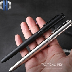 CNC tytanu na zewnątrz długopis taktyczny długopis wielofunkcyjny samoobrony narzędzia ze stali wolframu młotek do zbicia szyby w Zewnętrzne narzędzia od Sport i rozrywka na