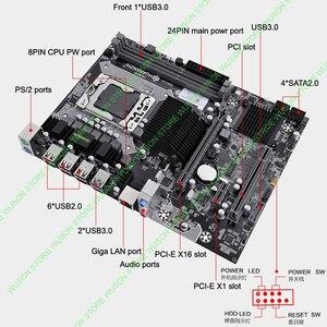 Image 3 - HUANANZHI X58 Motherboard with Xeon CPU X5570 2.93GHz Cooler Big Brand RAM 8G(2*4G) REG ECC Buy Computer Quality Guarantee