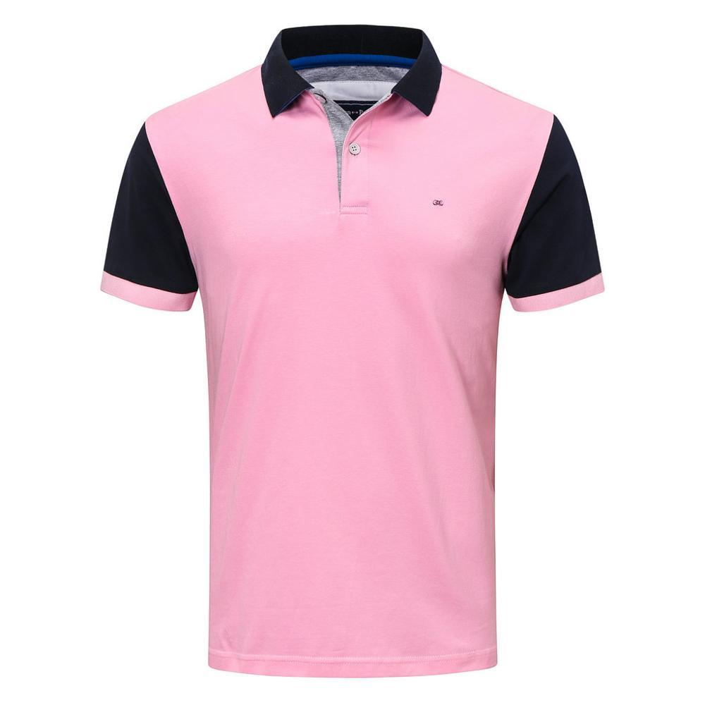 França 2020 100% algodão de alta qualidade dos homens polo camisa manga curta polos moda clássica camisas casuais masculino m a 3xl 4