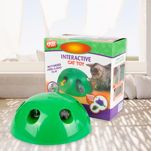 Image 4 - 2019 New Cat Toy Pop Play Pet Toy Ball POP N PLAY Cat Scratching Device Funny Traning Cat Toys For Cat Sharpen Claw Pet Supplies