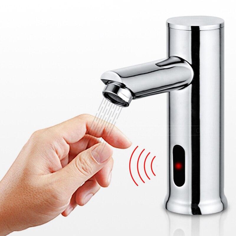 Sensor infravermelho quente e fria torneira do banheiro cozinha