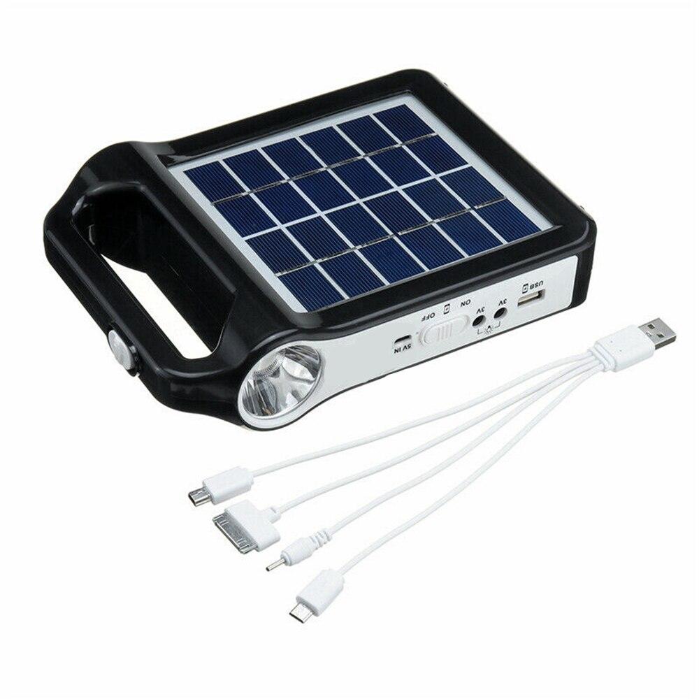 armazenamento energia gerador carregador usb com iluminação