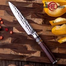 5 ''Utility Messer Japanischen VG10 Stahl Klinge Küche Messer Damaskus Kochmesser Japanischen Damaskus Stahl Peeling Küche Knive Heißer