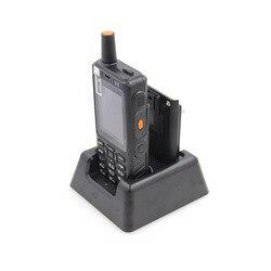 Anysecu carregador de desktop para f40 7 s + 4g lte rádio rede zello ptt walkie talkie telefone