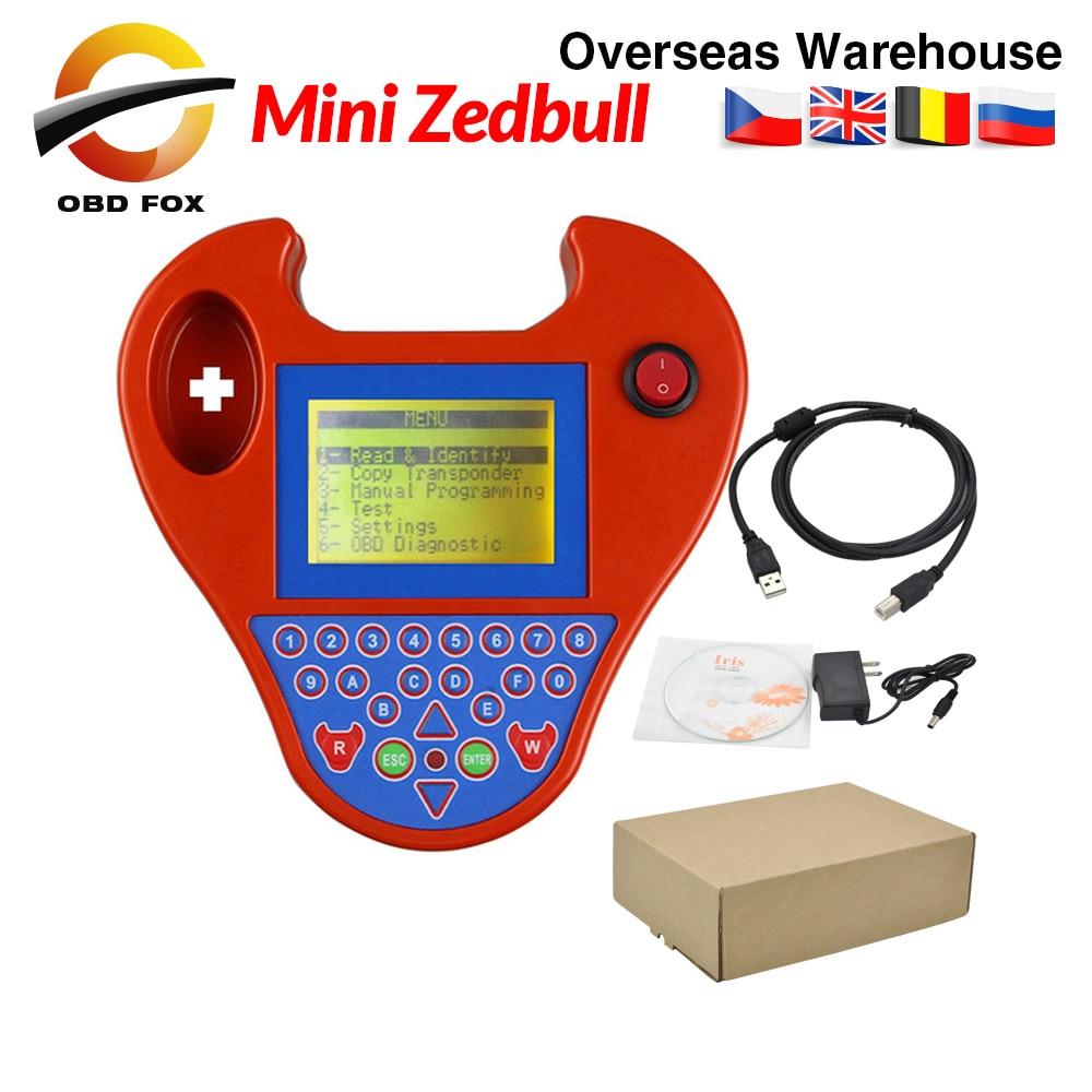 2019 mais recente versão v508 super mini zedbull smart zed-bull chave identificador programador mini zed bull chave programador em estoque