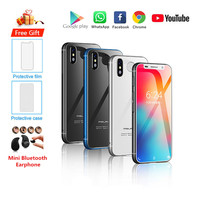 Original Neue Melrose 2019 Smartphone Android 8 1 4G LTE 3.4 ''Super Mini 3GB 32GB Fingerprint Google handy PK S9 K15