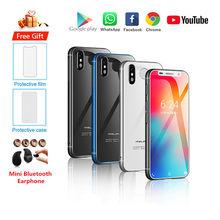 Smartphone melrose 2019 original novo, android 8.1 4g lte, tela de 3.4 '', super mini 3gb 32gb, impressão digital, google celular pk s9 k15
