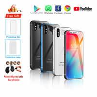 "Original nuevo Melrose 2019 Smartphone Android 8,1 4G LTE 3,4 ""Super Mini 3GB 32GB de huellas dactilares de Google teléfono móvil PK S9 K15"