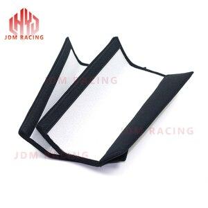 Image 5 - Par de cubierta de cinturón de seguridad de coche para cinturón de seguridad de coche almohadillas para hombros, cojín, Protección de hombro de seguridad para carreras, accesorios interiores para automóviles