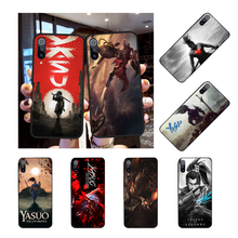 Nbdruicai LOL Mid Yasuo Hitam TPU Soft Phone Case Cover untuk Redmi Note 8 8A 7 6 6A 5 5A 4 4X 4A Pergi PRO PLUS Perdana(China)