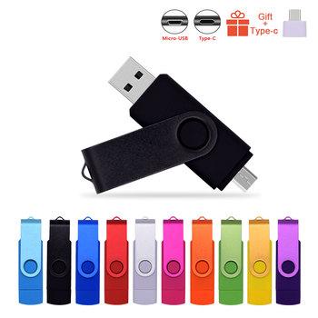 Wysokiej prędkości Pendrives OTG USB 2 0 PC i pendrive do smartfona 8GB 16GB 32GB 64GB metalowy dostosować LOGO pendrive (10 sztuk bezpłatne Logo) tanie i dobre opinie fivestarsbuy CN (pochodzenie) USB flash drive Flash disk Palec Grudnia 2016 Pink Red Orange Gr0een Gold blue purple white black