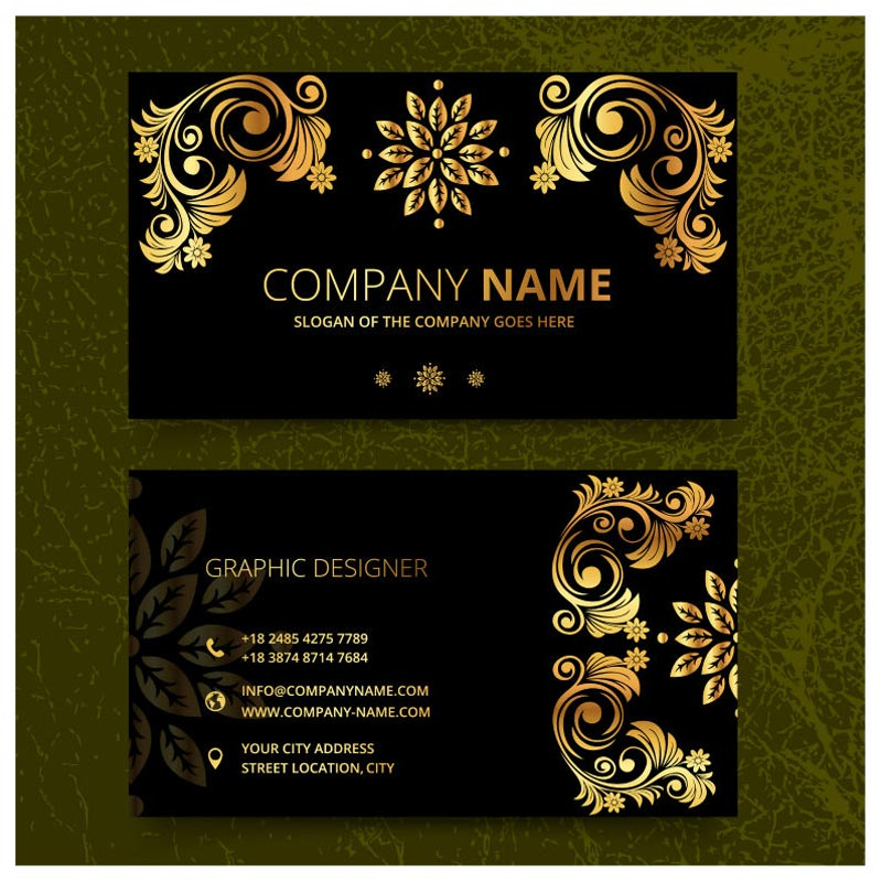 Image 2 - 90X54 mm 300gsm white paper with both sides printing full color printing business card-in Business Cards from Office & School Supplies