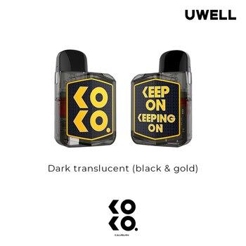 Uwell – cigarette électronique Caliburn KOKO Prime, Kit de Vision, batterie 690mAh, cartouches de 2ML, UN2 mesha-h, 0,8 ohm