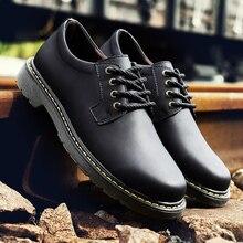 Handmade Shoes Flats Business-Dress Oxfords Formal Black Big-Size Casual Fashion Brand