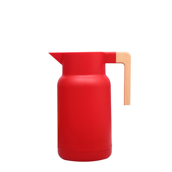 1L Large Household Hot Water Pot Kettle Glass Vacuum Flasks Insulation Thermos Office Coffee Thermal Warmer Bottles Double Wall 6