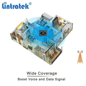 Image 4 - Cellular Amplifier 3G GSM UMTS 2100 Repeater Mobile Signal 2100MHZ Communication Booster 3g Antenna 10m Kit LCD Lintratek #8