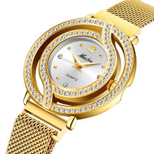 2020 luxury brand woman watch Stainless Steel Wrist Watch Bl