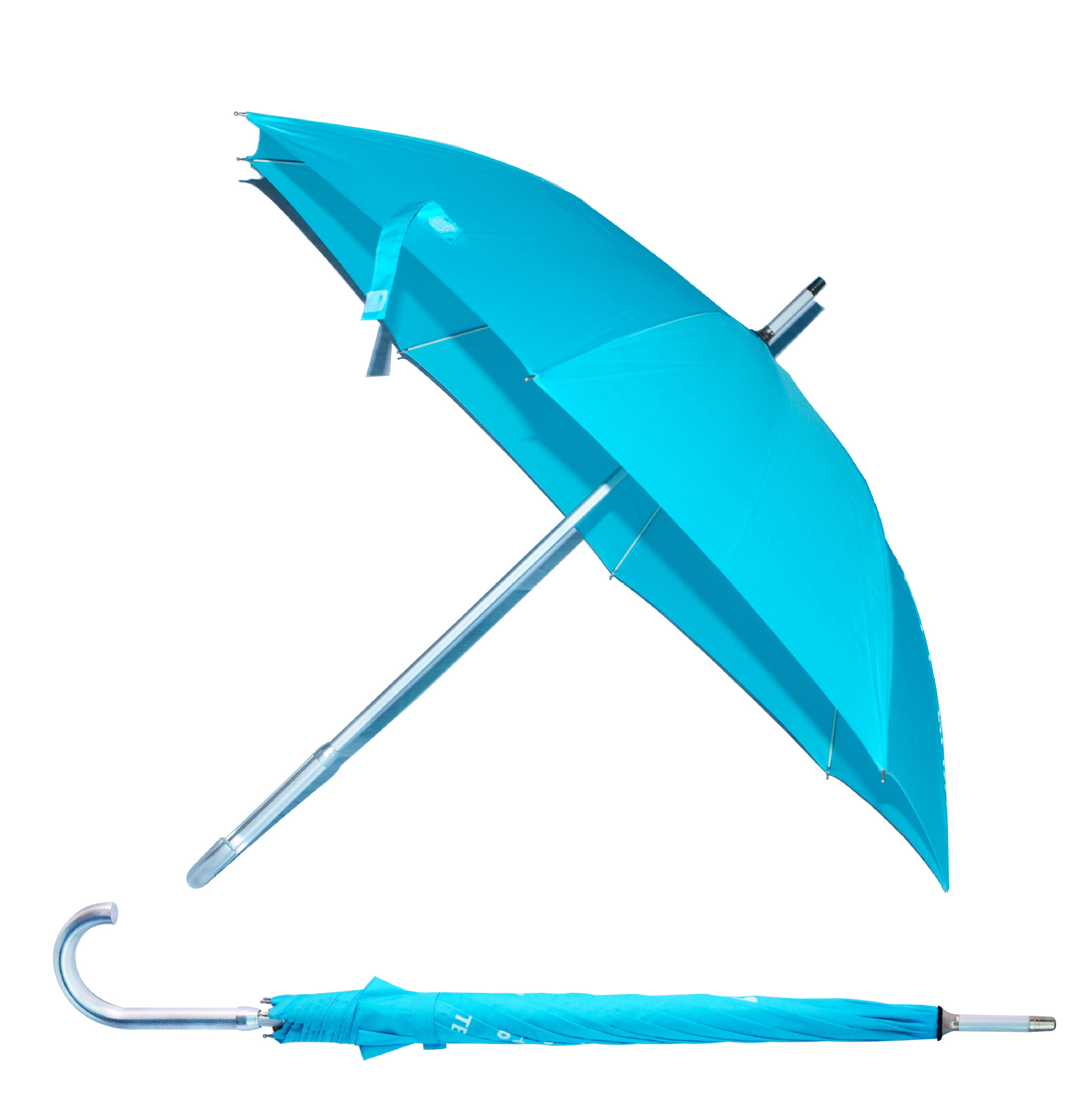 Creative All-Weather Umbrella Long Handle Advertising Umbrella Customizable 8 Bone Parasol Can Be Printed Logo Promotional Gift