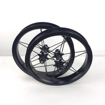 12 Inch Bike Wheelset for Kids Balance Bike Colorful Aluminum Alloy Ultra Light Wheelset 84mm 94mm