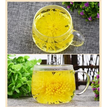 Flower tea, golden silk, chrysanthemum, fruit, blooming tea, fire-lowering tea, beauty and beauty tea, 30 packages