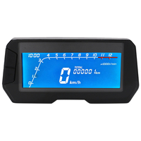 Hot 12000RPM LCD Odometer Accessories Backlight Waterproof ABS Refit Motorcycle Easy Install Sensor 6 Gear Digital Speedometer