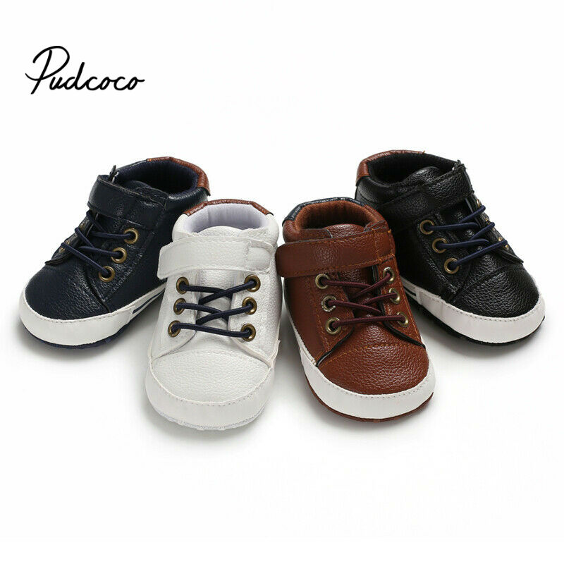 2020 Brand New Infant Baby Girl Shoes Newborn Soft Sole Sneaker Cotton Crib Shoes Sport Casual Warm First Walkers For 0-18month