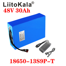 LiitoKala 48v 30ah 48v 1000w battery lithium ion battery 48V 30AH electric bike battery cell 48v scooter battery