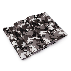 Image 2 - 1.52mx30M Black Grey White Green Red Real Camo Vinyl Car Wrap PVC Adhesive Camouflage Film Stickers For Full Car Wrapping Decals