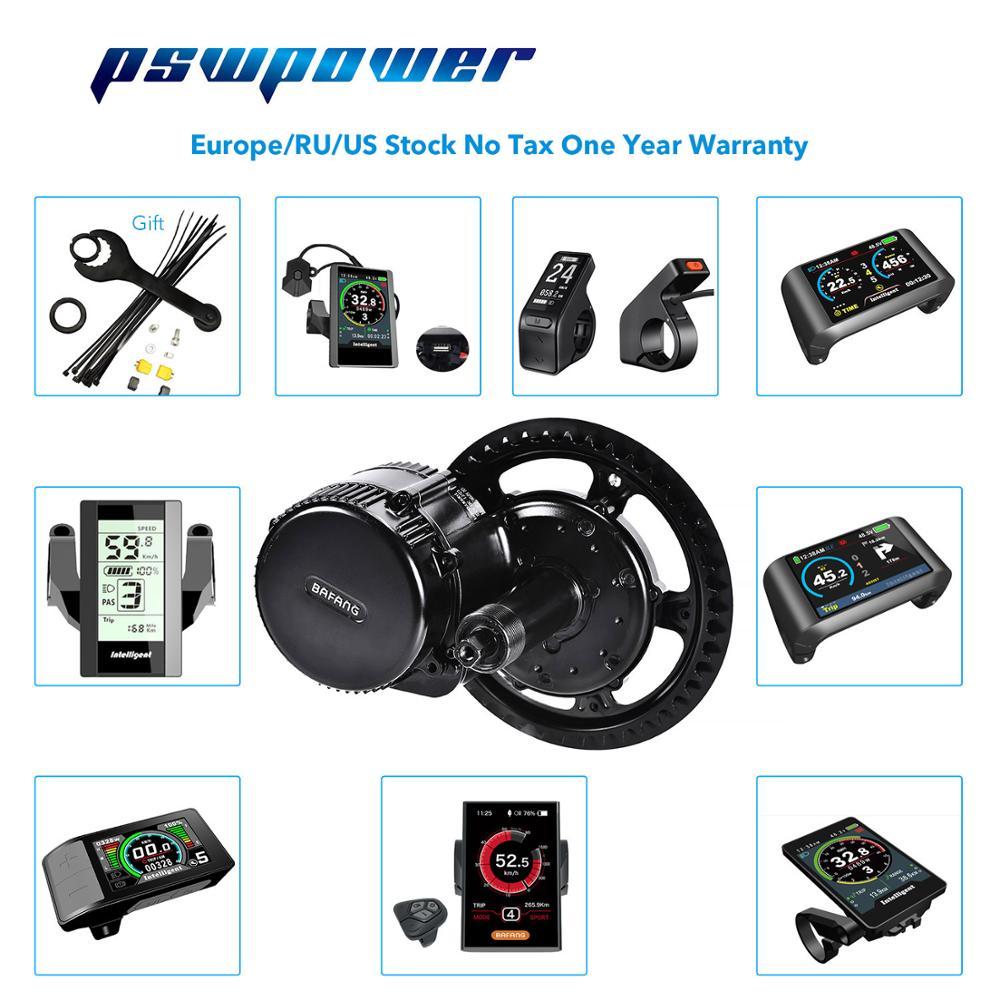 EU Free TSDZ2 pswpower 48V500W//750W Central Mid Drive Motor Conversion Ebike Kit