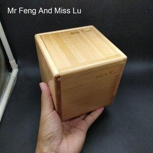 Image 4 - Contenitore di Regalo di legno Di Puzzle Con Speciale Meccanismo di Gioco Giocattolo Moneta Contenitore di Soldi