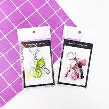 Kpop GOT7 Blackpink keychain cute SEVENTEEN TWICE pendant key chain lightstick s