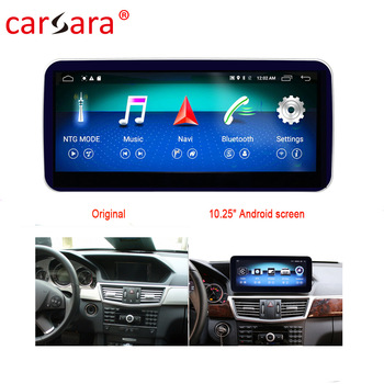 W212 S212 GPS Navigator Updating Tablet Android Monitor For Mercedes E Class W212 E200 E230 E260 E300 image