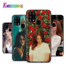 Lana Del Rey hermosa para Samsung Galaxy A12 M31 M10 M10S M20 M21 M30 M40 M60S Nota 20 10 Plus Ultra lite teléfono caso
