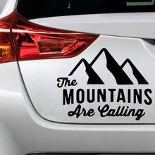 Милая горная Автомобильная наклейка s и наклейки виниловая декоративная