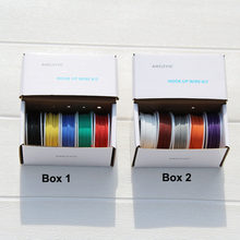 Flexible Silicone Wire (5 colors Mix Stranded Wire Kit ) 18 20 22 24 26 28AWG tinned pure copper wire