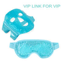 Dropshipping Ice Gel Eye Face Mask Hot Cold Therapy Sleep Mask for Headache,Dark Circles,Facial Treatment Skin Care Tool