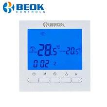 BOT 313W לתכנות סוללה כוח חדר דיגיטלי טרמוסטט לדוד גז חימום בקרת טמפרטורה קיר רכוב התרמוסטט