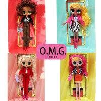 Оригинальные куклы LOL Surprise OMG, сменные куклы с ароматом конфет, экшн-фигурка, набор для кукол, рождественские подарки для девочек