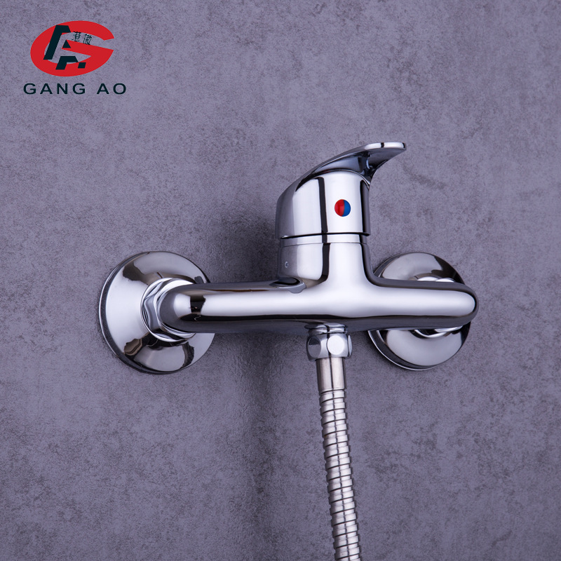 Jordan Shower Faucet Copper Hot And Cold Surface Mounted Wall-in Bathroom Mixing Valve Australia Paleo Ware Manufacturers Wholes