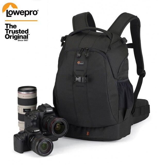 شحن سريع من Gopro حقيقية Lowepro فليبسايد 400 AW F400 II كاميرا صور حقيبة الظهر الرقمية SLR + جميع غطاء الطقس بالجملة