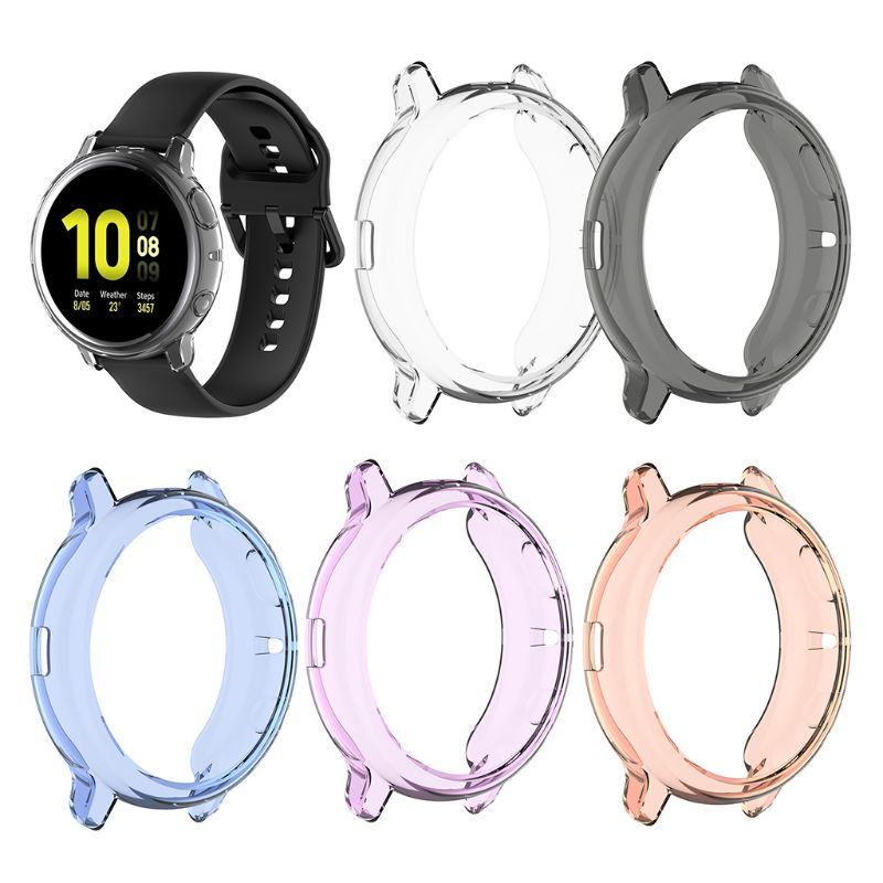 Soft TPU Protective Case Cover Skin Shell For Samsung Galaxy Watch Active 2 44mm
