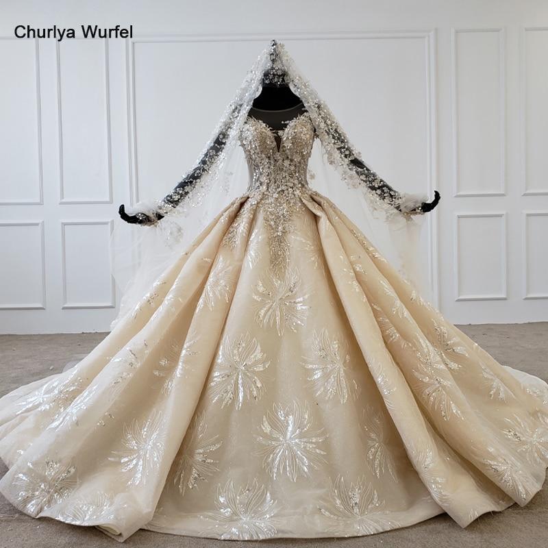 HTL1178 2020 Plus Size Wedding Dress Applique Sequin Pearl Flowers Luxury Short Sleeves Wedding Gowns Vestido De Novia Bohemio