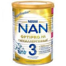 Молочная смесь NAN 3 Optipro HA Гипоаллергенный с 12 мес 400 гр