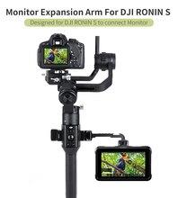 Agimbalgear dh11 dji ronin s/sc/rsc2 monitor suporte braço mágico estender sapato frio mic led luz de vídeo estabilizador cardan acessório