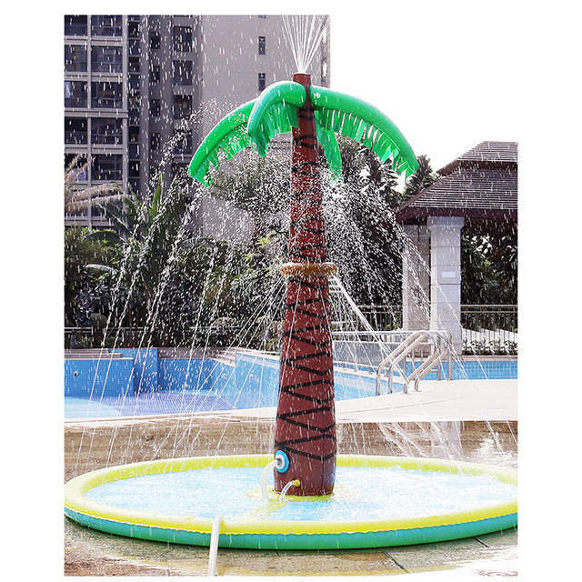 1.8m Tree Inflatable Water Padding Durable Fun Water Spray Pad Kids Summer Toys Outdoor Pool for Children Inflatable Pools Toy