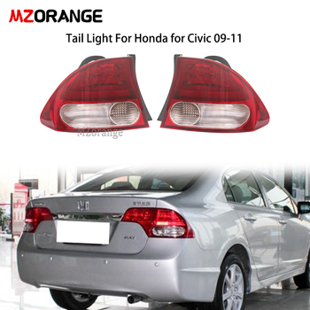 MZORANGE Rear Tail Light For Honda For CIVIC FA1 2009 2010 2011 Taillights 33552-SNV-H51 33502-SNV-H51 car assembly Tail Lamp