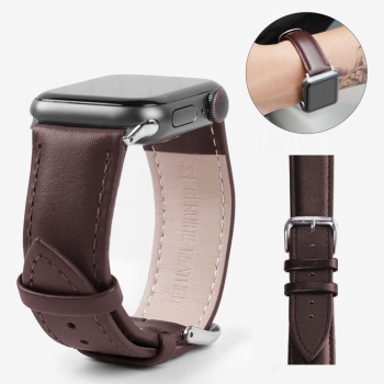 strap for apple watch band Genuine leather loop 42mm 38mm watchband for iwatch strap 44mm 40mm 5/4/3/2/1 bracelet accessories modern buckle strap for apple watch band 38mm 40mm 42mm 44mm bracelet genuine leather weave watchband for iwatch 4 3 2 1 belt